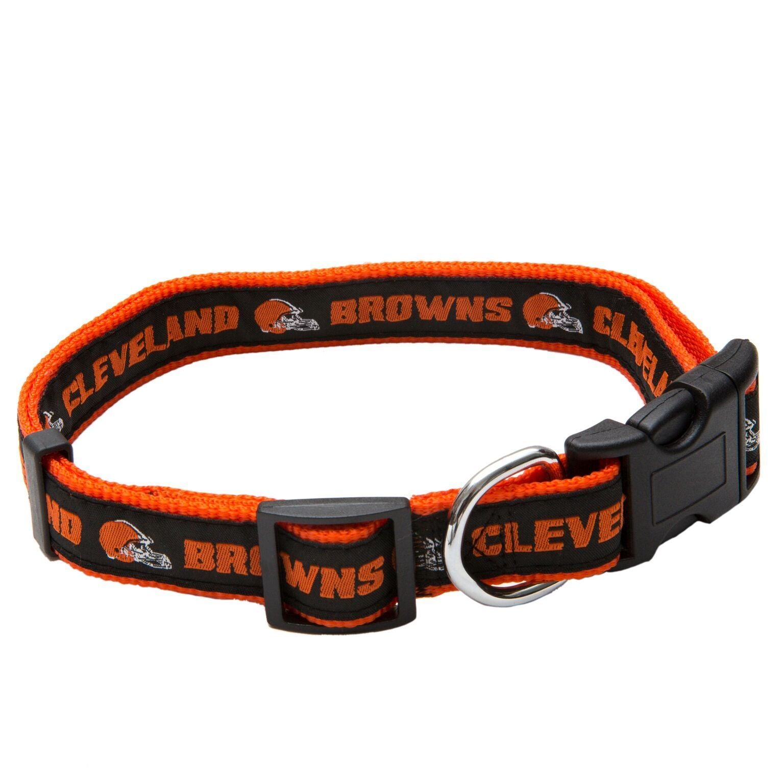 Cleveland Browns Puppy Dog Football Jersey Cheerleading Uniform Collar Leash - Jersey Champs