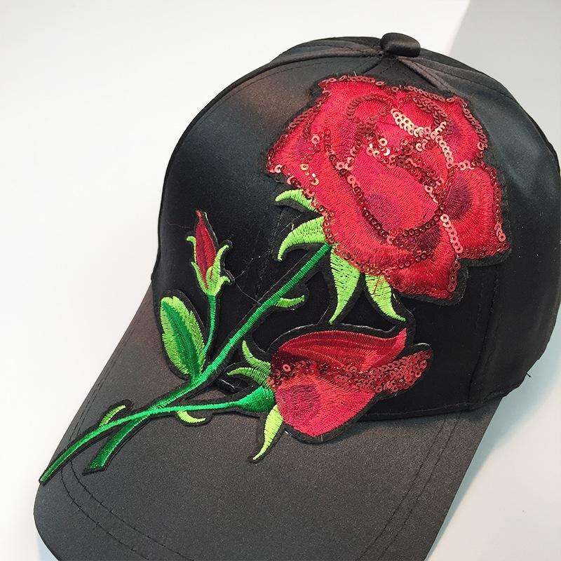 Red Rose Dad Cap Hat - Jersey Champs - Custom Basketball, Baseball, Football & Hockey Jerseys