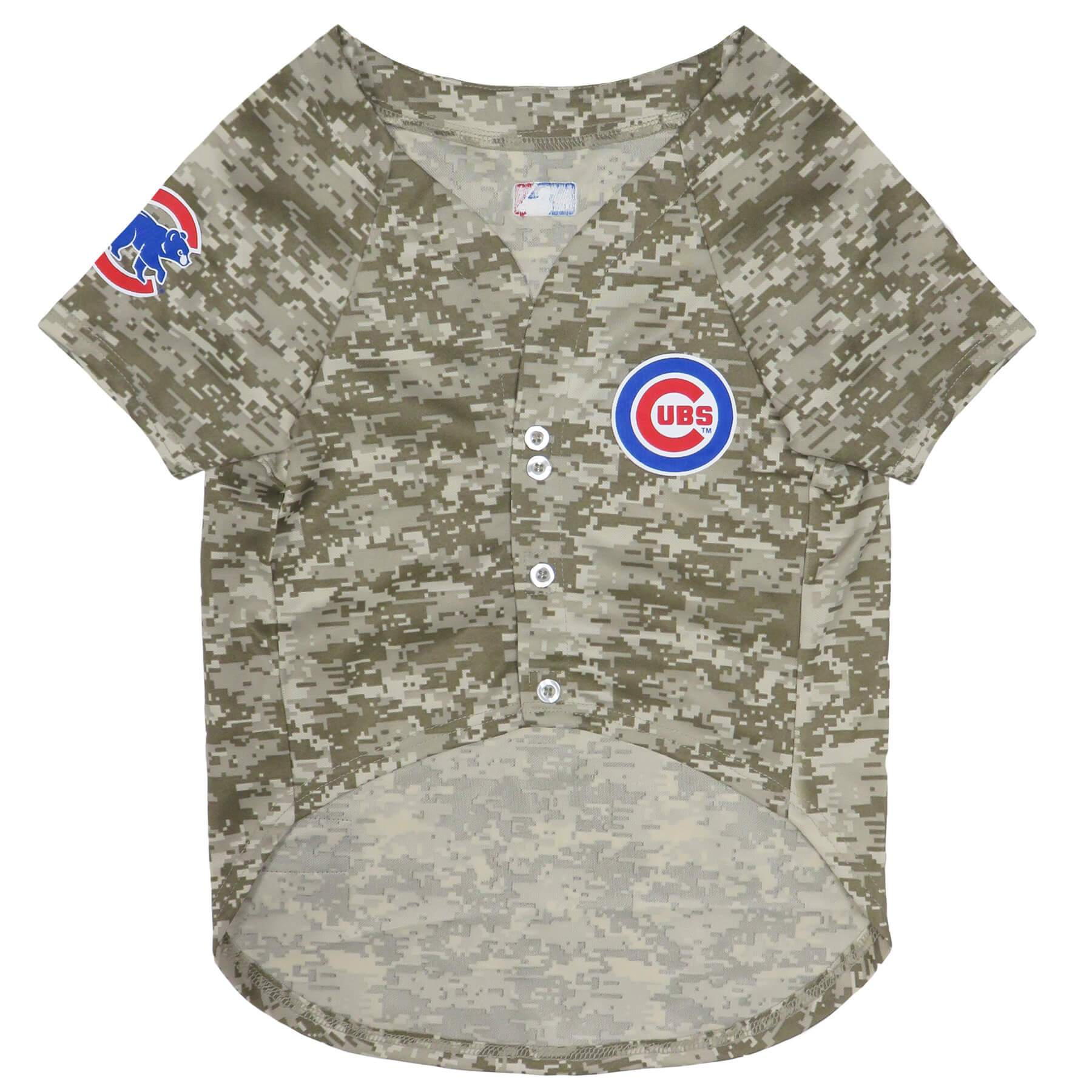 Chicago Cubs Puppy Dog Baseball Jersey - Jersey Champs