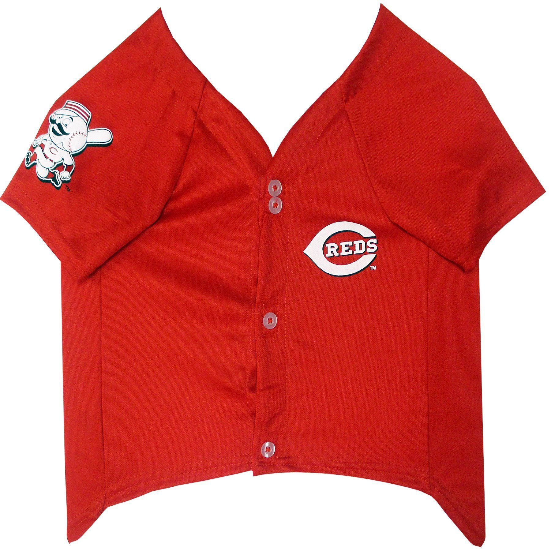 Cincinnati Reds Puppy Dog Baseball Jersey - Jersey Champs