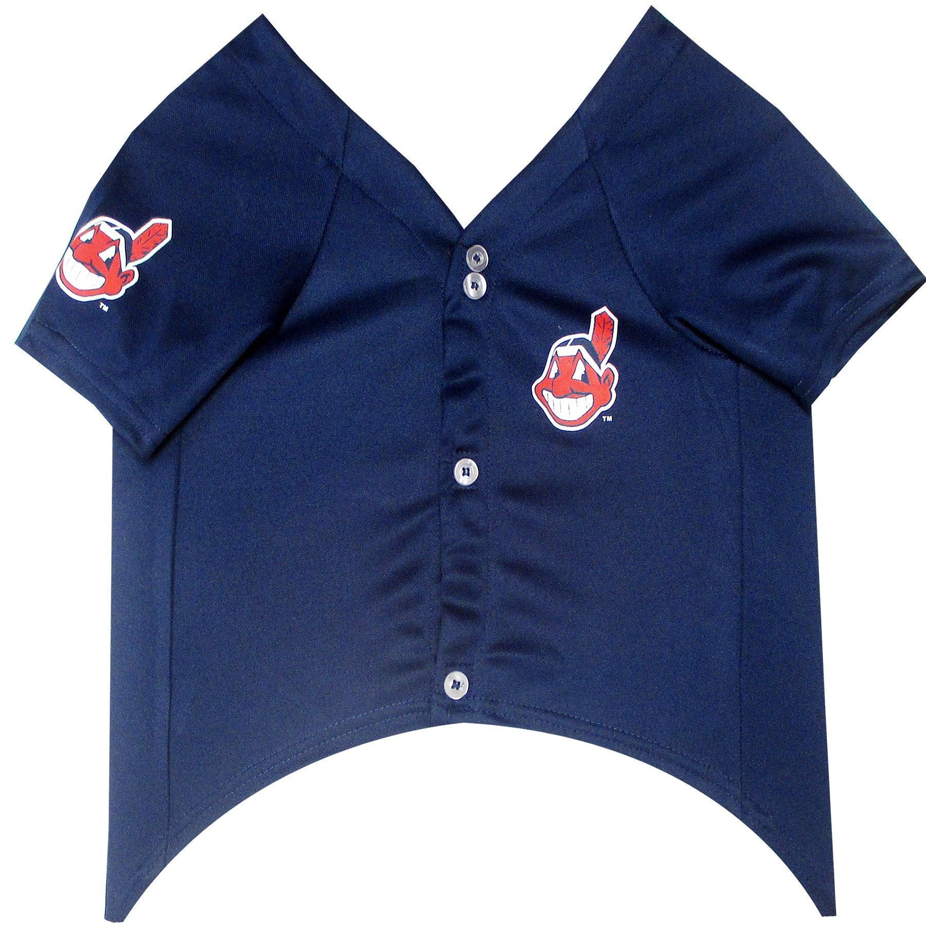 Cleveland Indians Puppy Dog Baseball Jersey - Jersey Champs