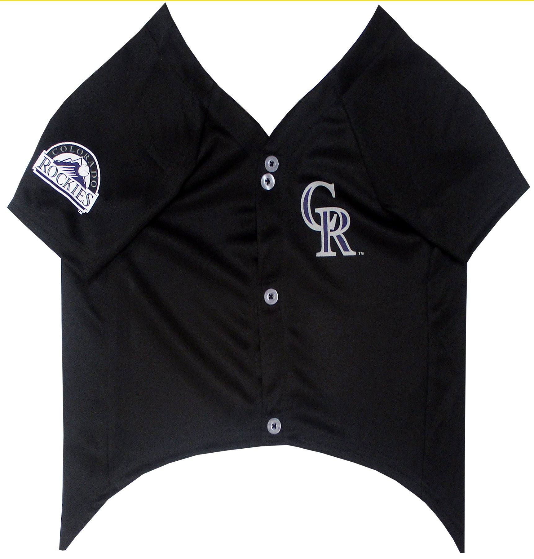 Colorado Rockies Puppy Dog Baseball Jersey - Jersey Champs