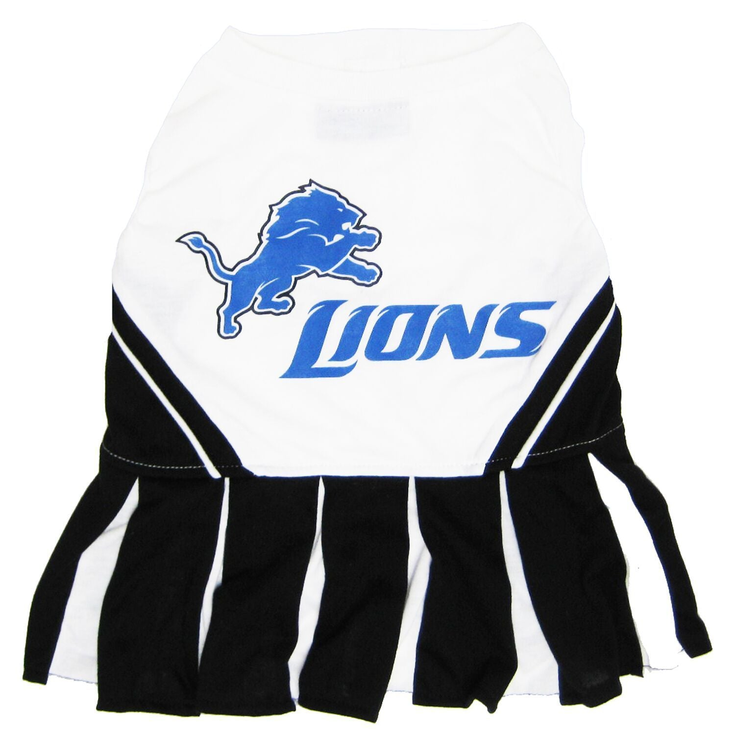 Detroit Lions Puppy Dog Football Jersey Collar Leash - Jersey Champs - Custom Basketball, Baseball, Football & Hockey Jerseys