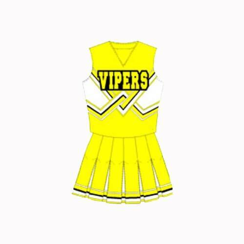Death Proof Lee Montgomery Vipers Cheerleader Uniform - Jersey Champs - Custom Basketball, Baseball, Football & Hockey Jerseys