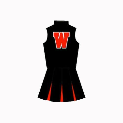Heathers Heather McNamara Westerburg High School Cheerleader Uniform - Jersey Champs