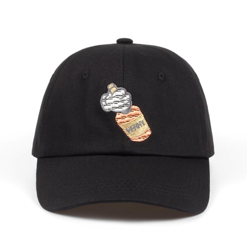 Henny Bottle Stitched Dad Hat