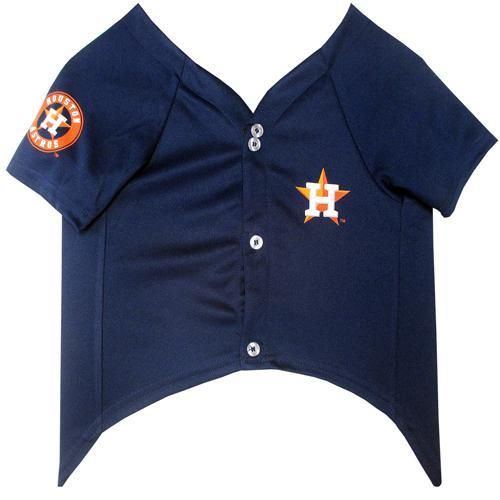 Houston Astros Puppy Dog Baseball Jersey
