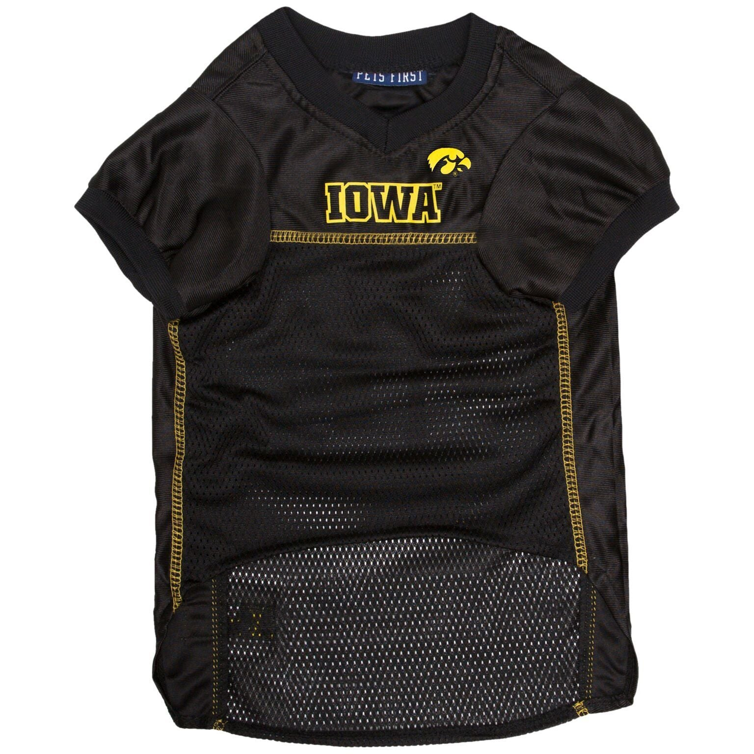 Iowa Hawkeye Football Dog Jerseys