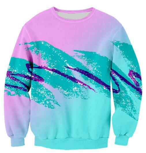 90s Wavy Paper Cup Sweater - Jersey Champs