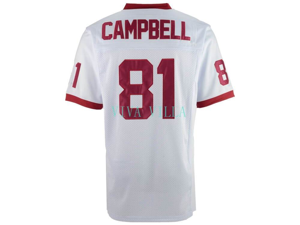 08937db5076a Julius Campbell Remember the Titans Football Jersey 81