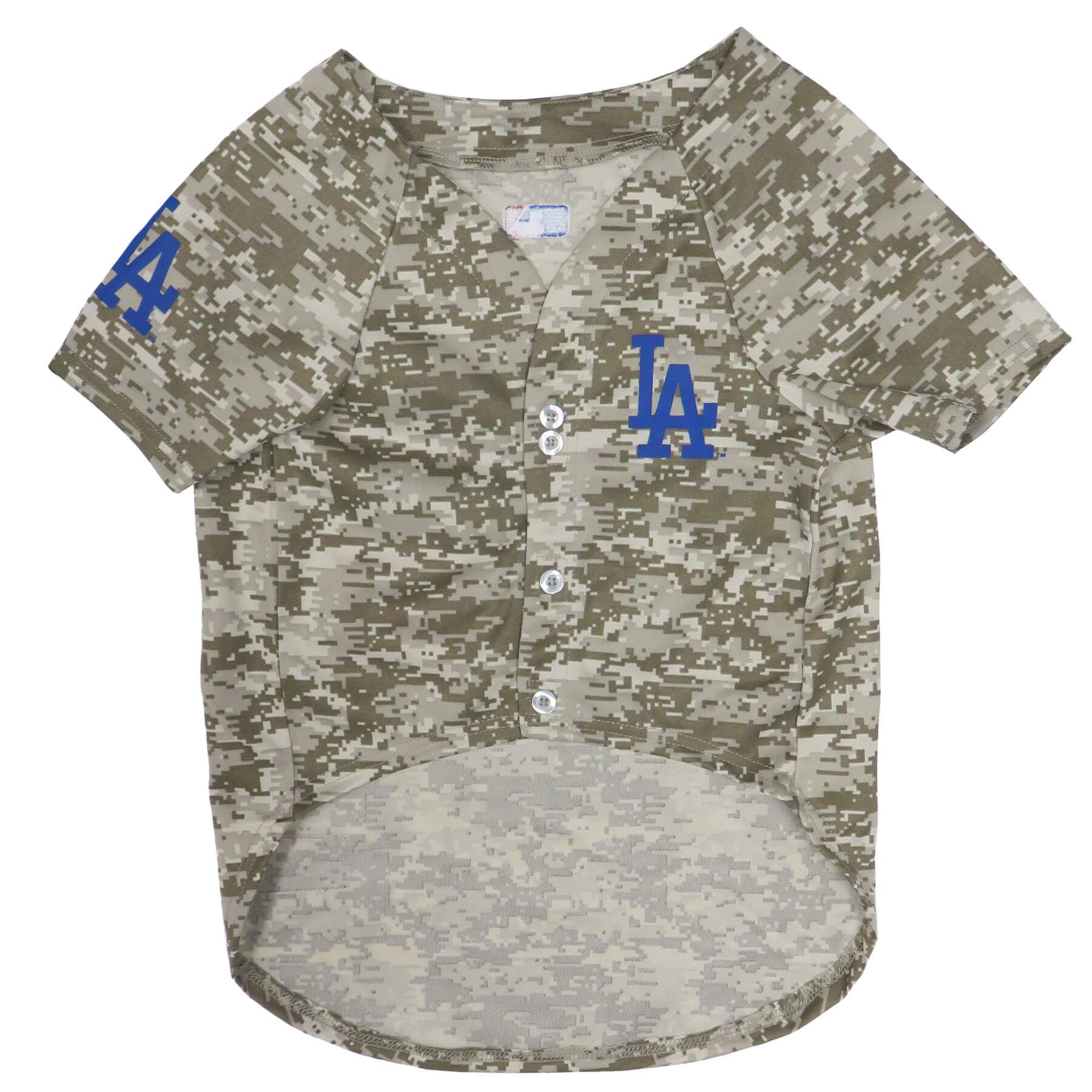 Los Angeles Dodgers Puppy Dog Baseball Jersey