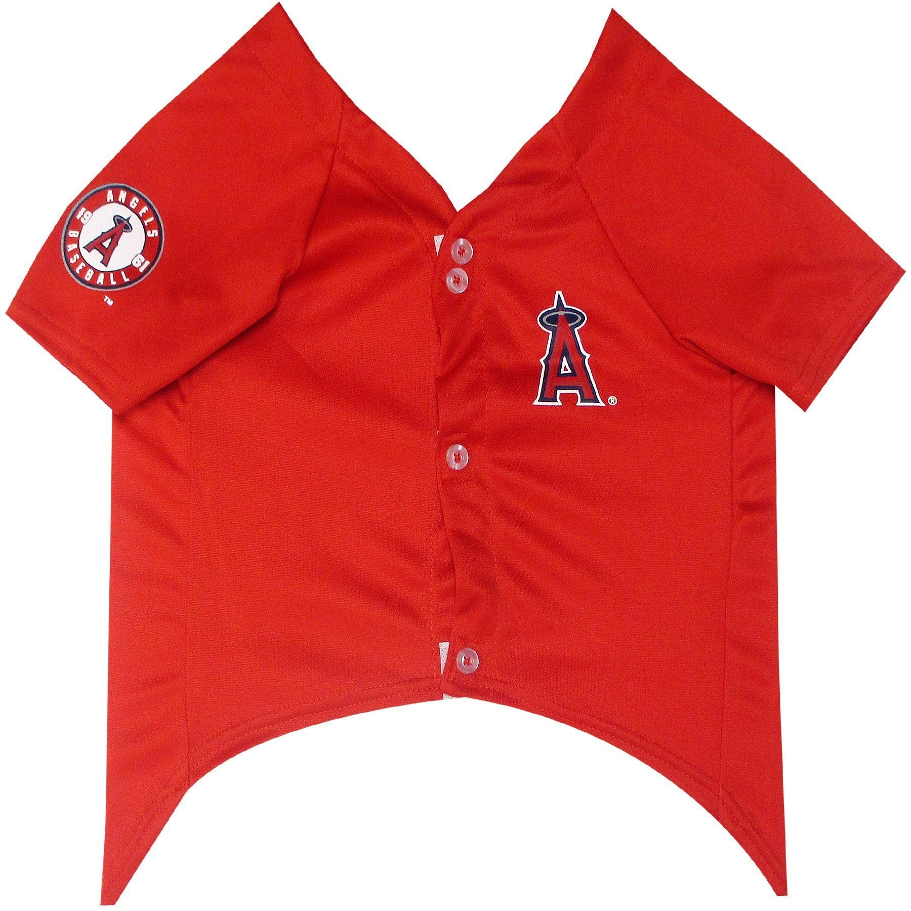 Los Angeles Angels Puppy Dog Baseball Jersey - Jersey Champs - Custom Basketball, Baseball, Football & Hockey Jerseys
