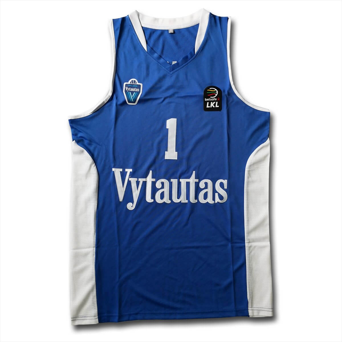 Lithuania Vytautas Basketball Jersey