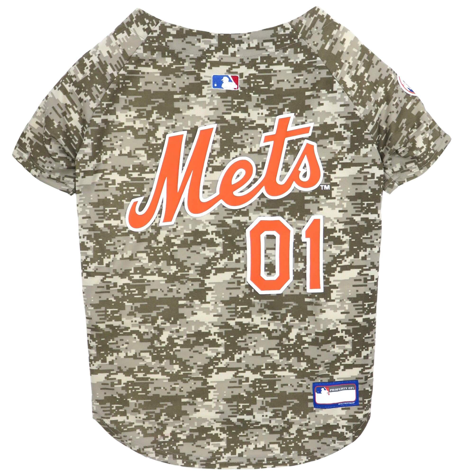 New York Mets Dog Baseball Jersey