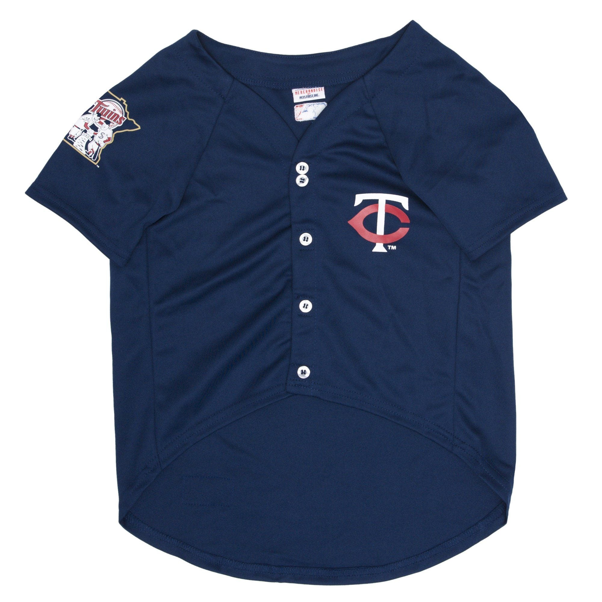 Minnesota Twins Puppy Dog Baseball Jersey - Jersey Champs - Custom Basketball, Baseball, Football & Hockey Jerseys