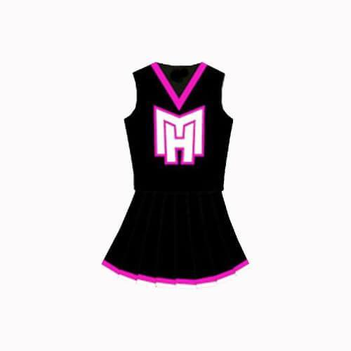 Monster High Cheerleader Uniform - Jersey Champs - Custom Basketball, Baseball, Football & Hockey Jerseys