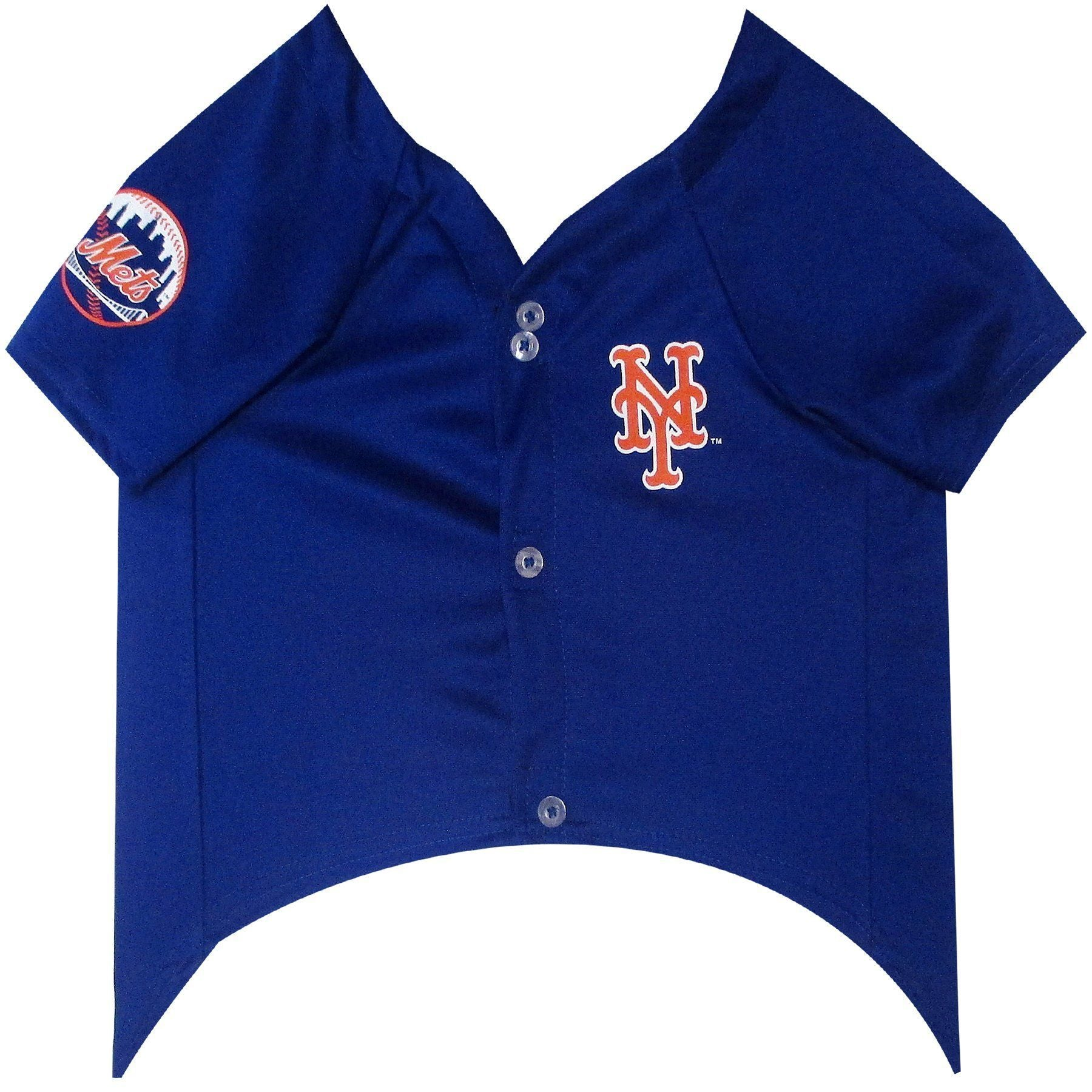 New York Mets Puppy Dog Baseball Jersey - Jersey Champs - Custom Basketball, Baseball, Football & Hockey Jerseys