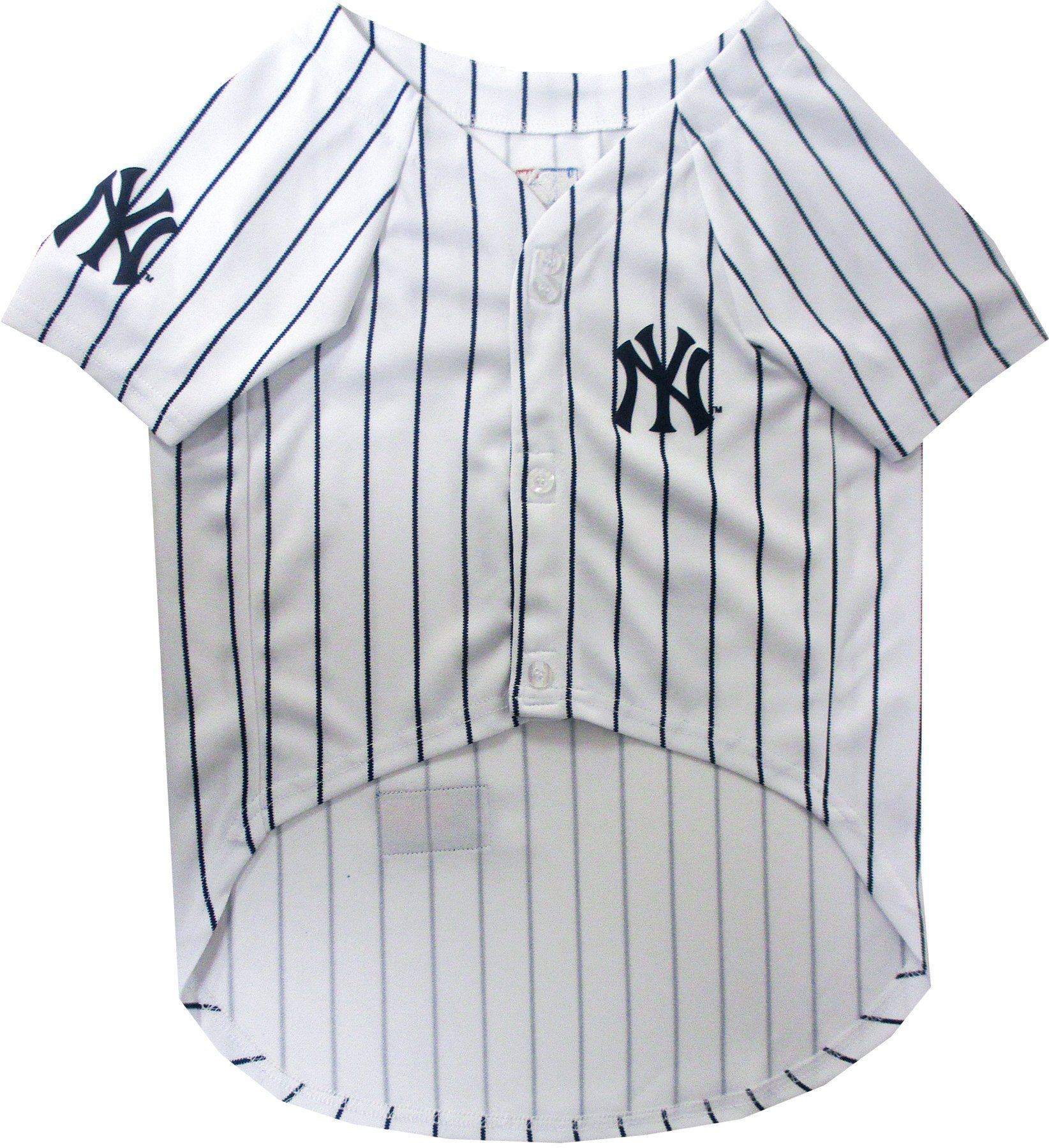 New York Yankees Puppy Dog Baseball Jersey - Jersey Champs - Custom Basketball, Baseball, Football & Hockey Jerseys
