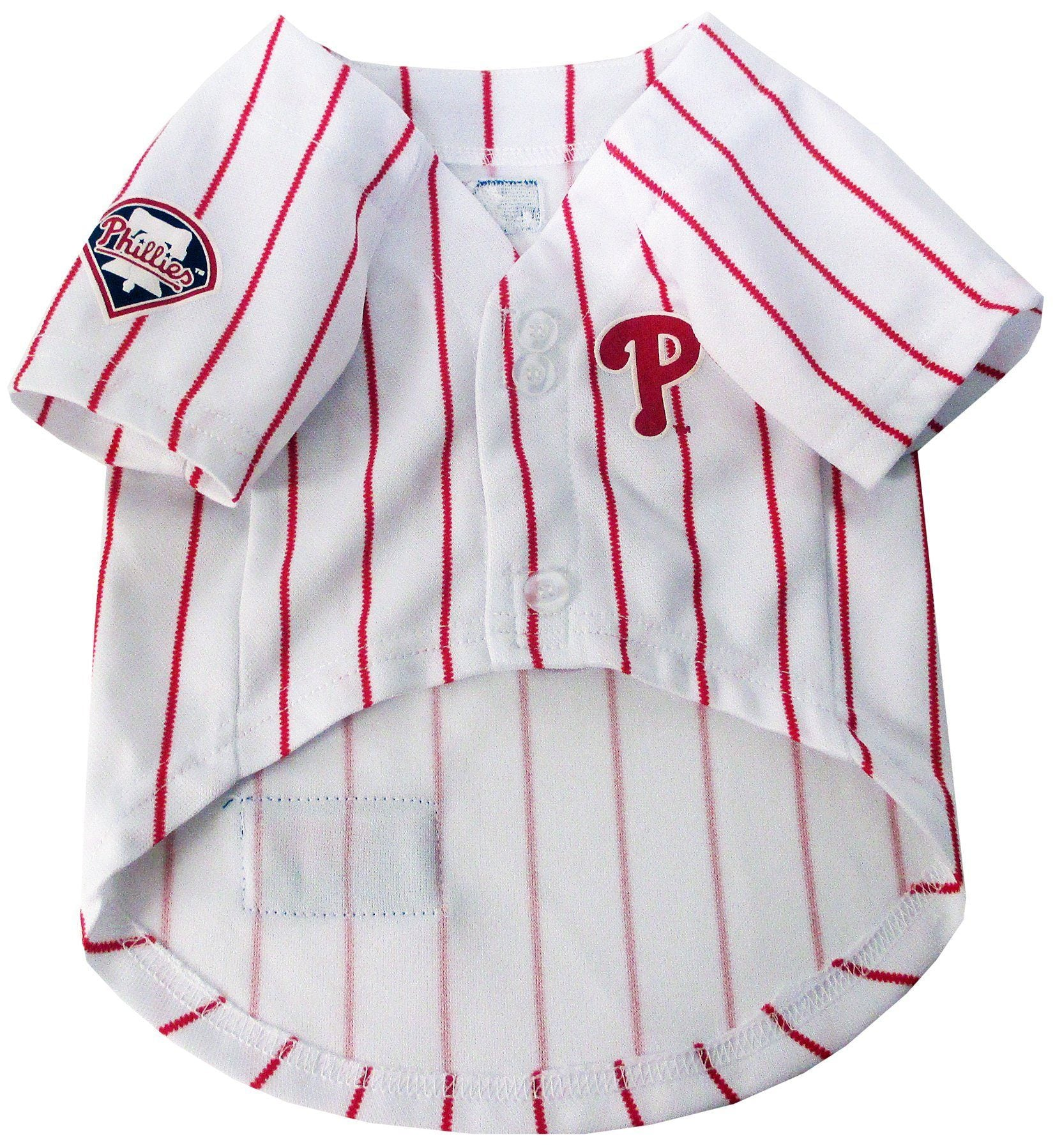 Philadelphia Phillies Puppy Dog Baseball Jersey - Jersey Champs - Custom Basketball, Baseball, Football & Hockey Jerseys