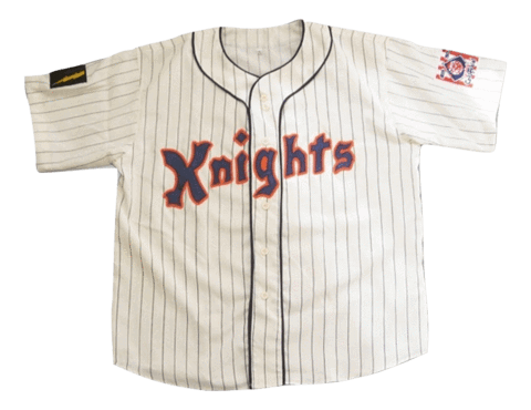Roy Hobbs The Natural New York Knights Fully Stitched Baseball Jersey