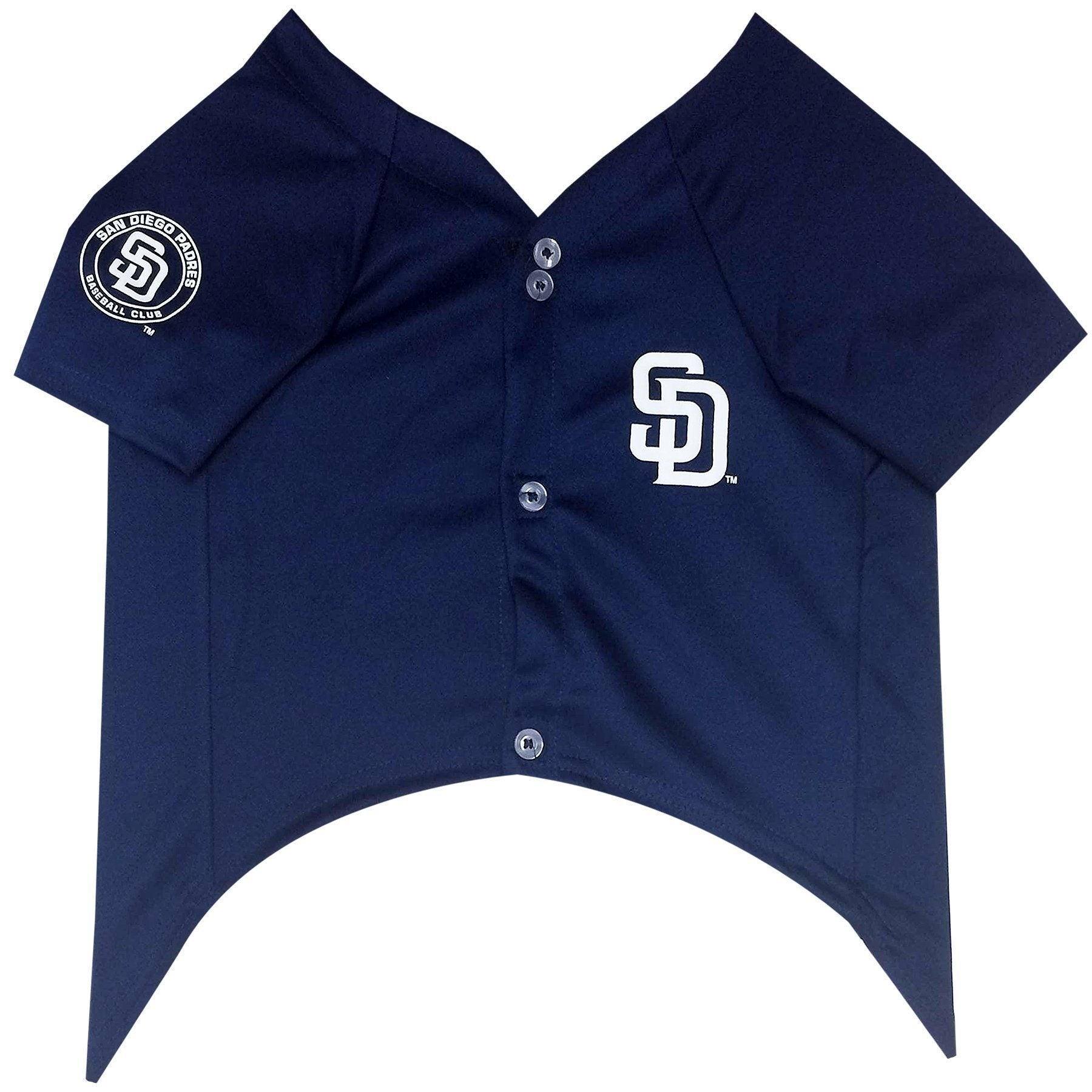 San Diego Padres Puppy Dog Baseball Jersey - Jersey Champs - Custom Basketball, Baseball, Football & Hockey Jerseys