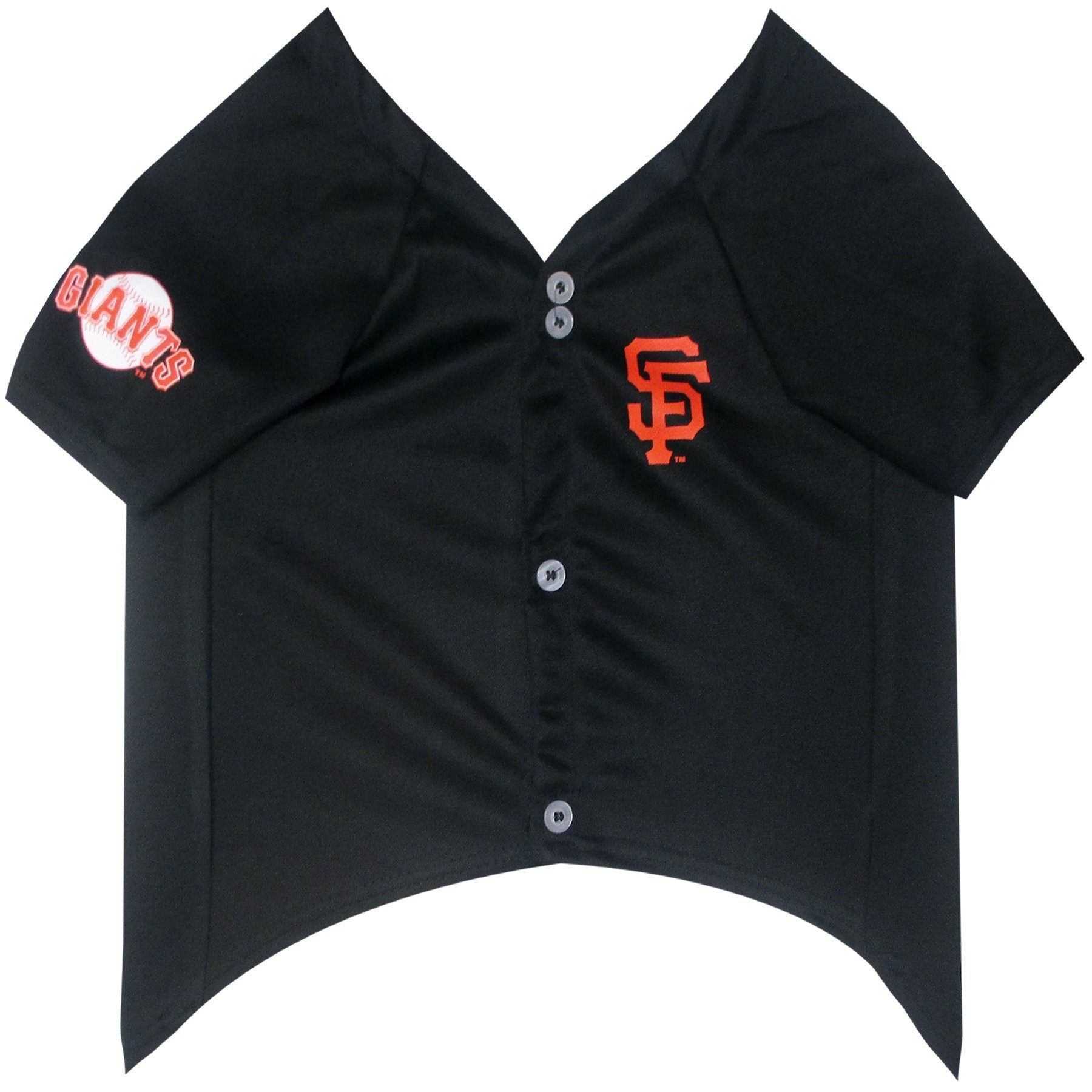 San Francisco Giants Puppy Dog Baseball Jersey - Jersey Champs - Custom Basketball, Baseball, Football & Hockey Jerseys