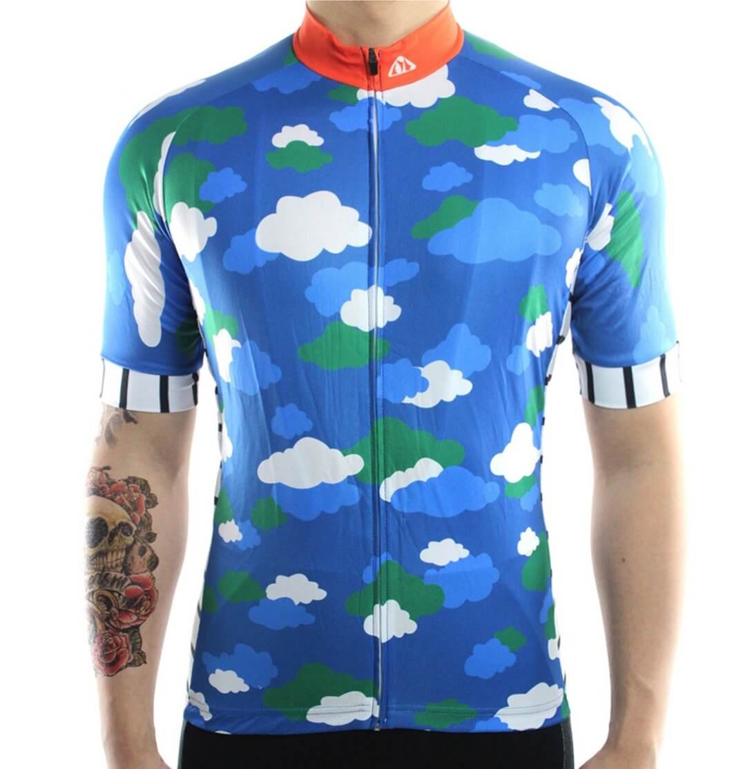 Blue Clouds Cycling Jersey