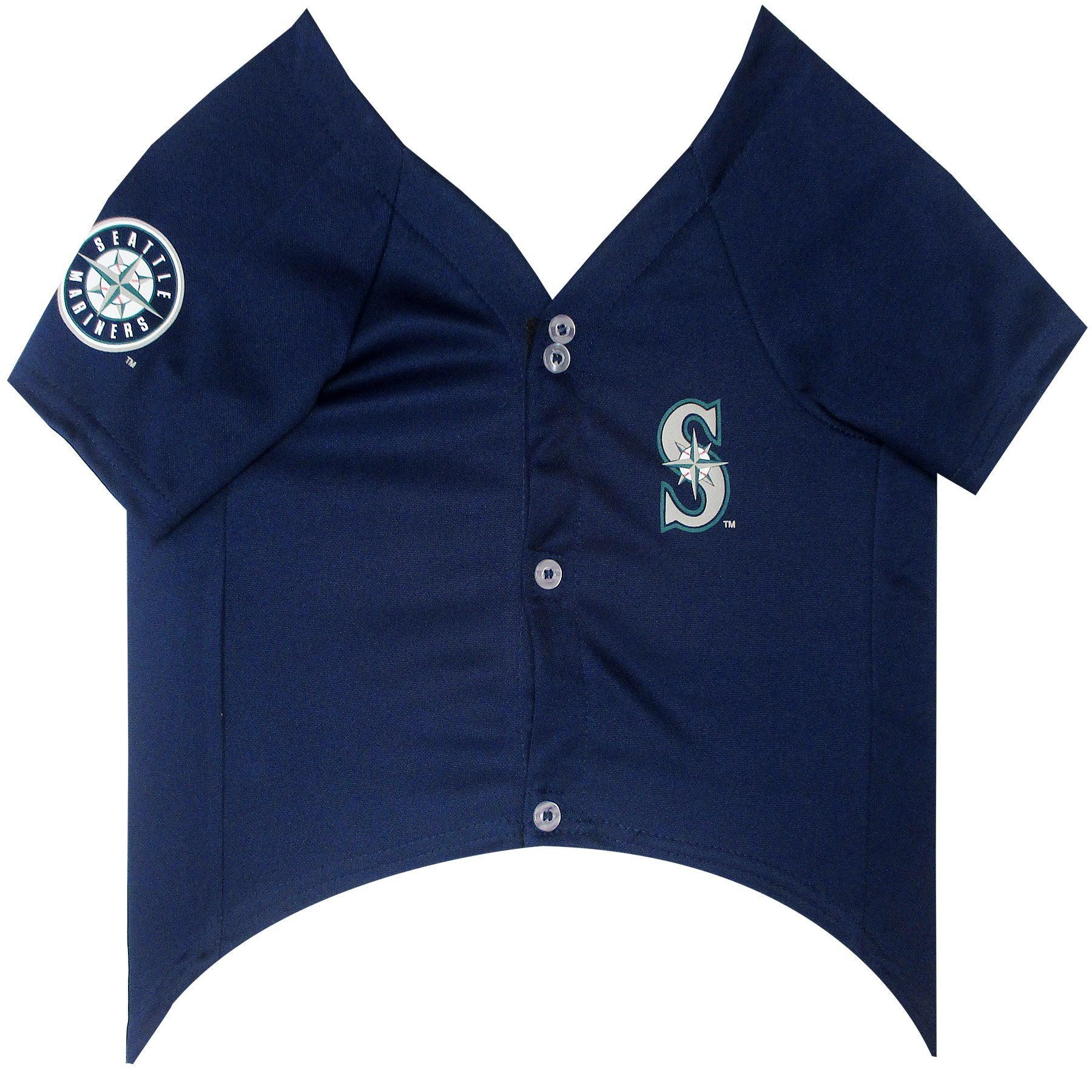 Seattle Mariners Puppy Dog Baseball Jersey - Jersey Champs - Custom Basketball, Baseball, Football & Hockey Jerseys