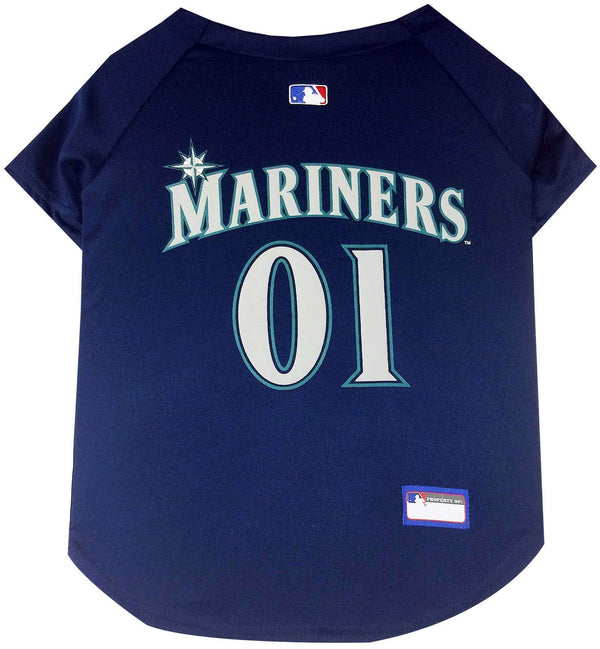 detailed look bcc62 c4b86 Seattle Mariners Puppy Dog Baseball Jersey