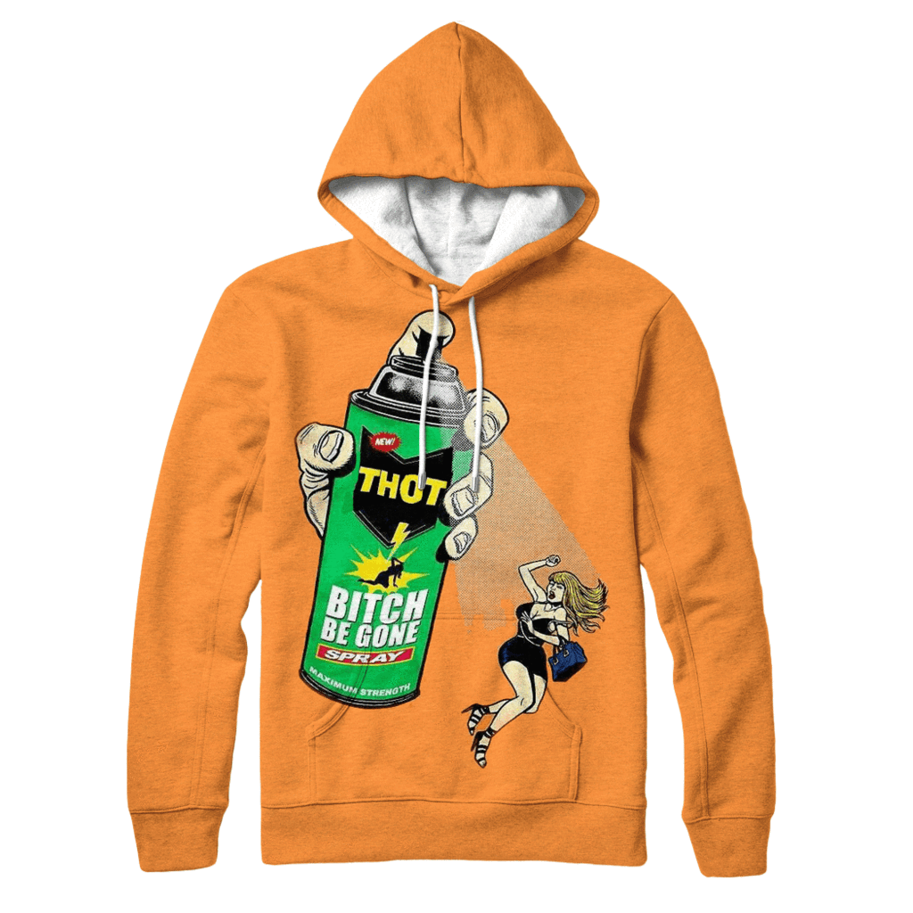 Thot Spray Hoodie - Jersey Champs - Custom Basketball, Baseball, Football & Hockey Jerseys