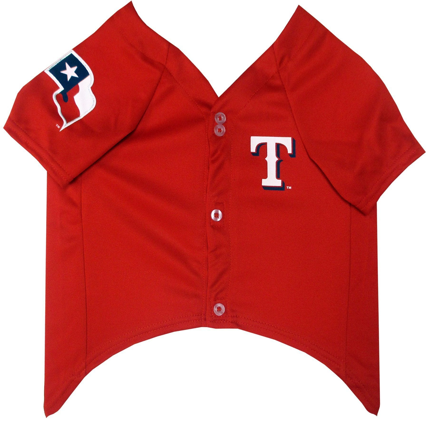 Texas Rangers Puppy Dog Baseball Jersey - Jersey Champs - Custom Basketball, Baseball, Football & Hockey Jerseys