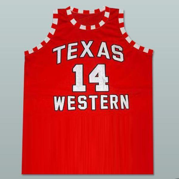 Glory Road Bobby Joe Hill Texas Western 14 Basketball Jersey - Jersey Champs