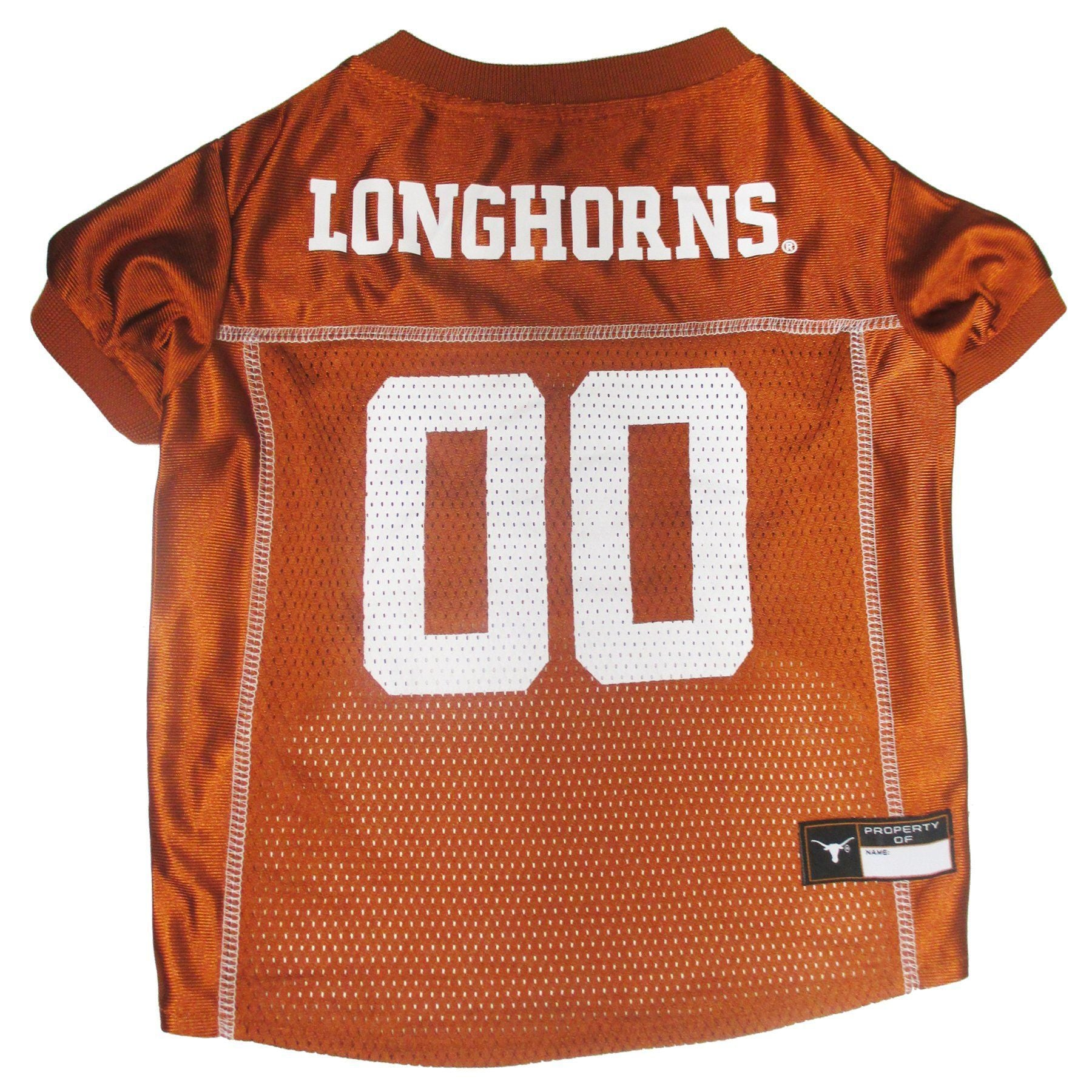 Texas Longhorns Football Puppy Dog Jersey - Jersey Champs - Custom Basketball, Baseball, Football & Hockey Jerseys