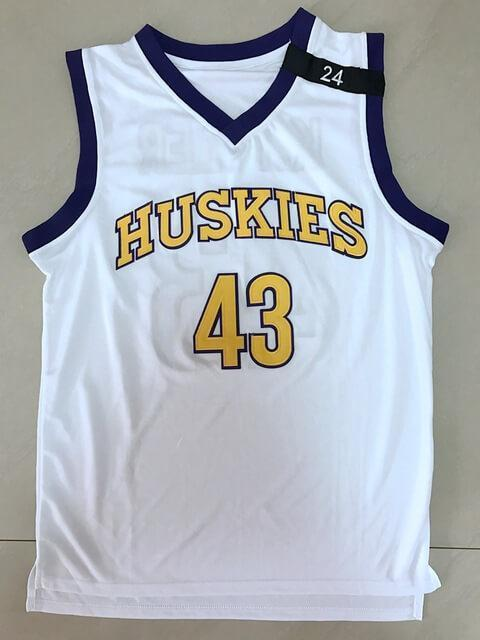 Kenny Tyler 43 Huskies Basketball Jersey The 6th Man