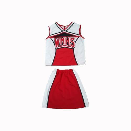 WMHS William Mckinley High School Cheerleader Outfit - Jersey Champs - Custom Basketball, Baseball, Football & Hockey Jerseys