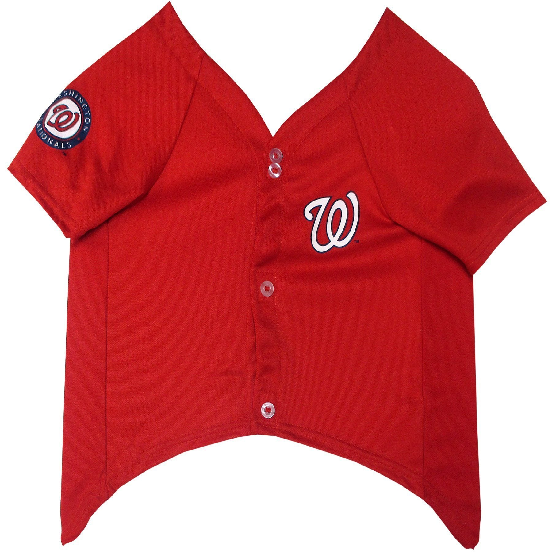Washington Nationals Puppy Dog Baseball Jersey - Jersey Champs - Custom Basketball, Baseball, Football & Hockey Jerseys