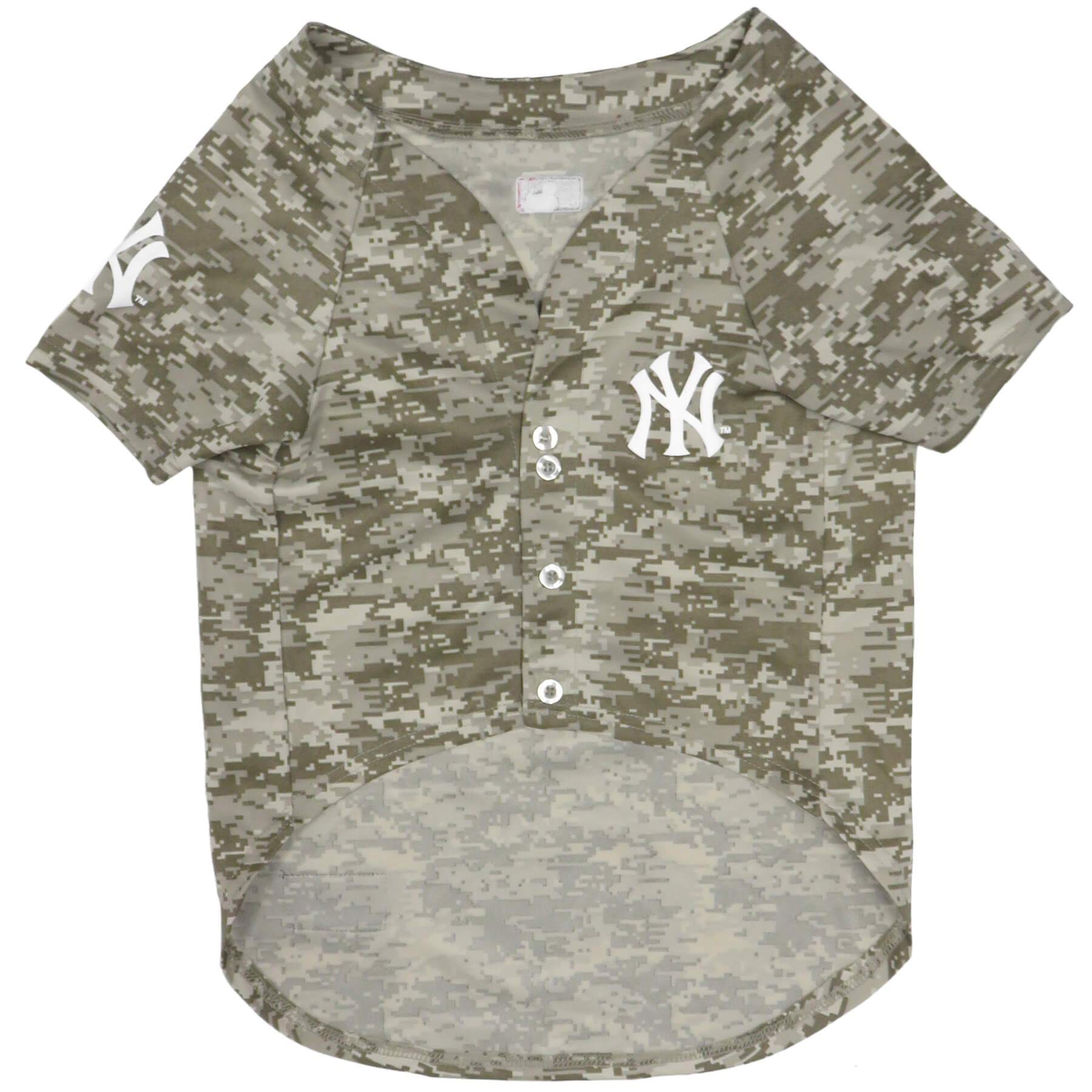 New York Yankees Camo Baseball Jersey