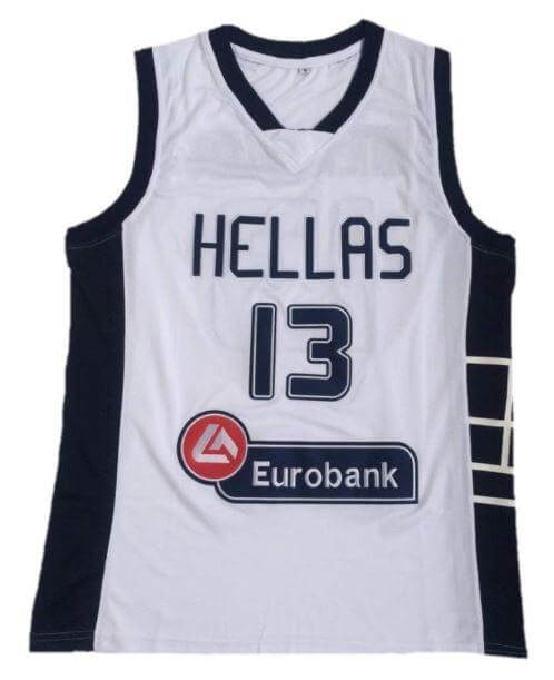 Giannis Antetokounmpo Hellas Greece Basketball Jersey 13