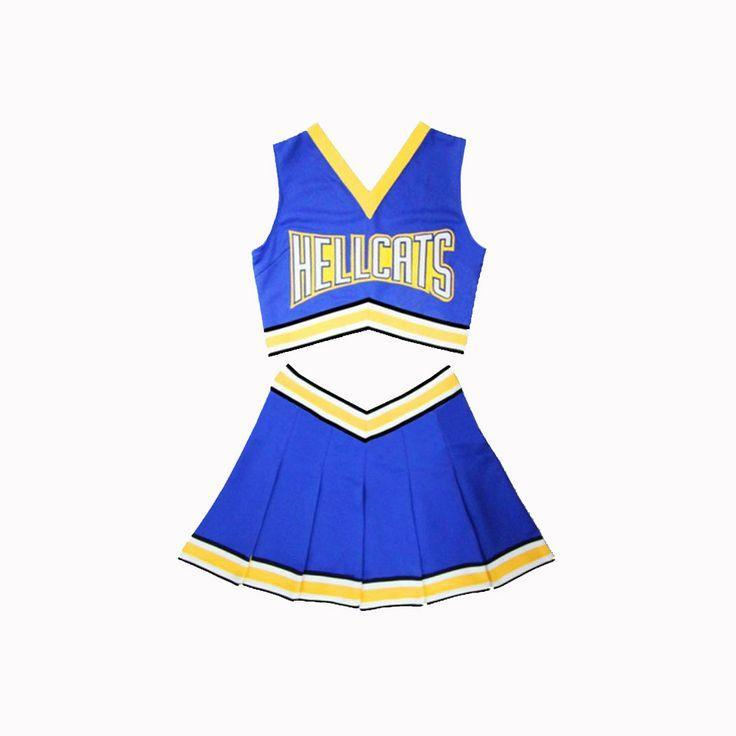 Lancer University Hellcats Cheerleader Uniform - Jersey Champs