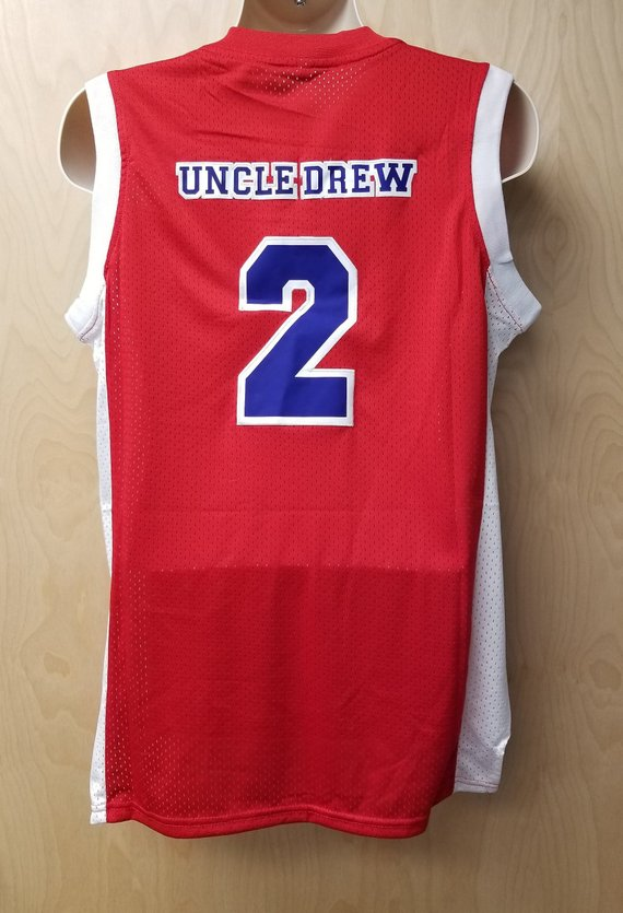 uk availability 0d33c ffdc0 Harlem Buckets Uncle Drew Basketball Jersey