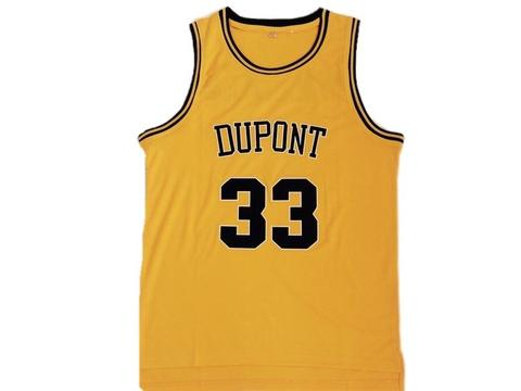 Dupont High School 33 Basketball Jersey