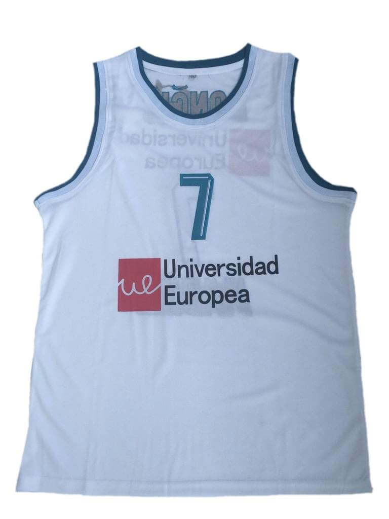 Doncic Universidad Europea Basketball Jersey #7