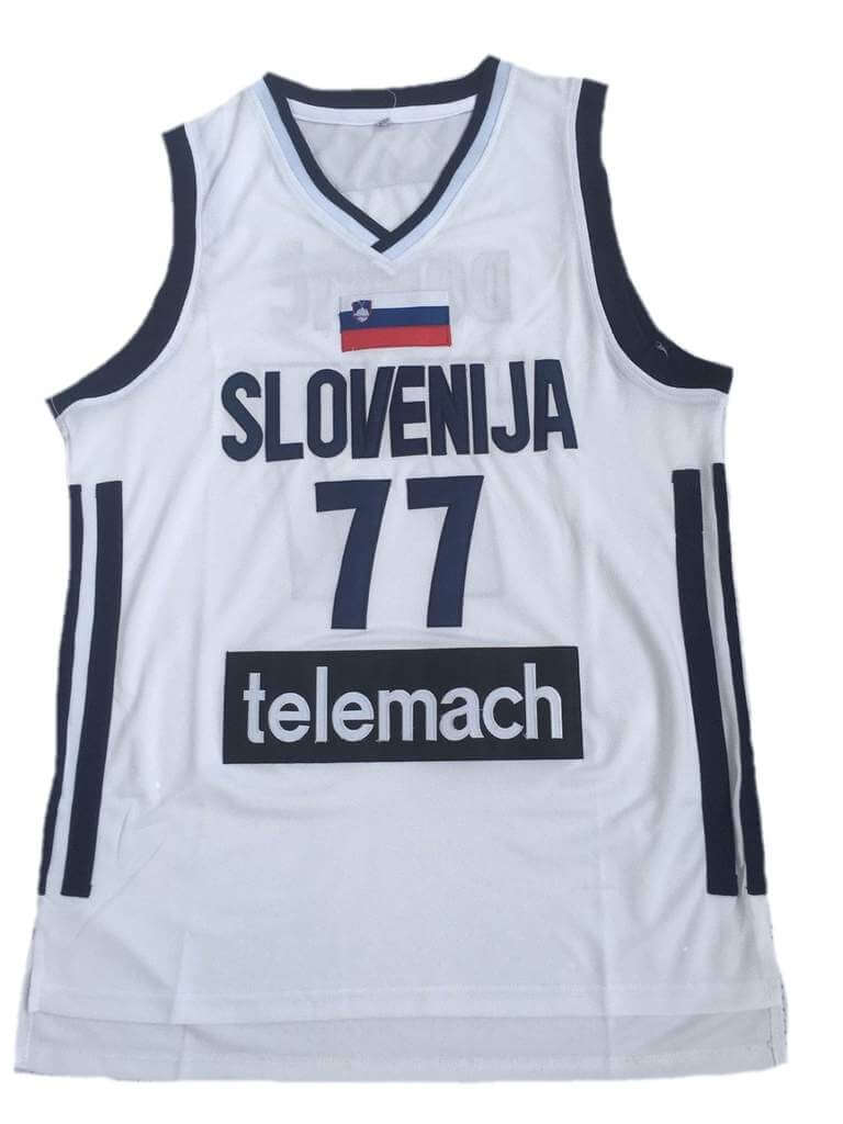 Luka Doncic Slovenia Basketball Jersey