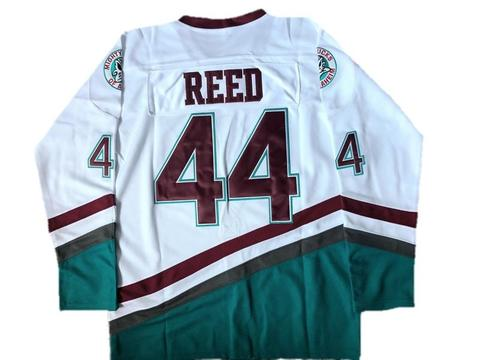 Fulton Reed Mighty Ducks 44 Ice Hockey Jersey