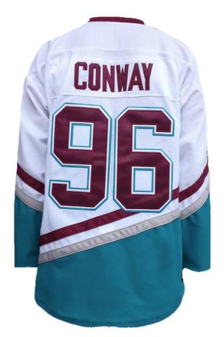 Charlie Conway Mighty Ducks 96 Ice Hockey Jersey