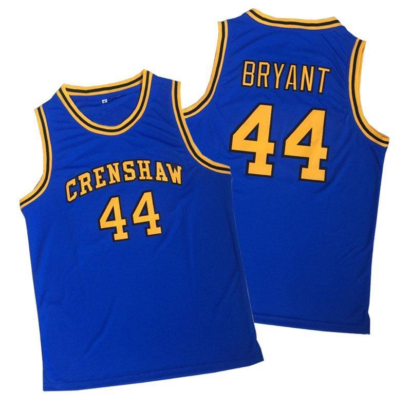 Crenshaw 44 Bryant Basketball Jersey - Jersey Champs - Custom Basketball, Baseball, Football & Hockey Jerseys