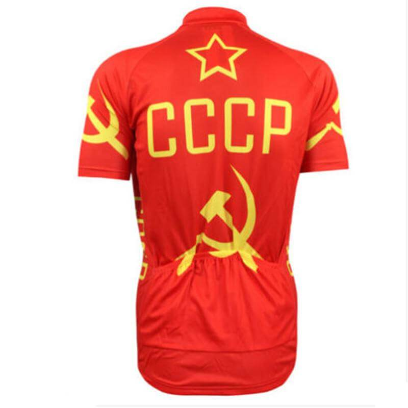Russia CCCP National Cycling Team Jersey