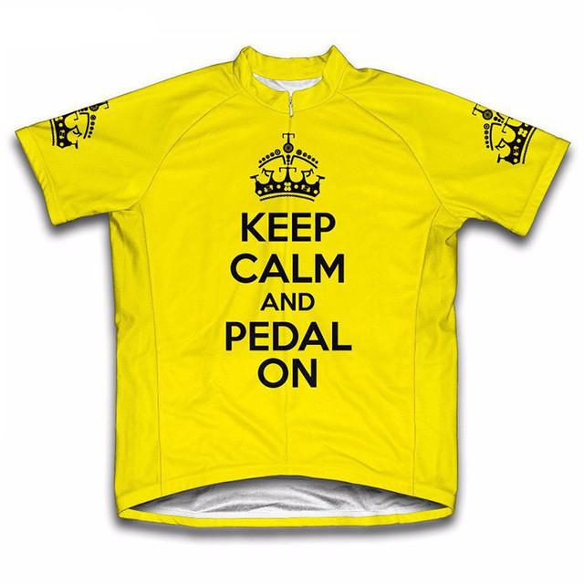 Keep Calm and Ride On Cycling Jersey