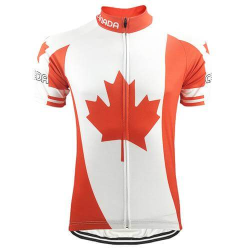 Canada National Team Cycling Jersey - Jersey Champs
