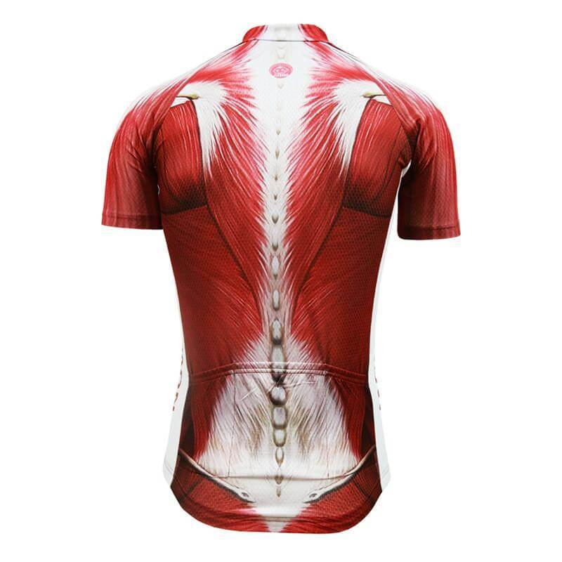 Human Body Cycling Jersey